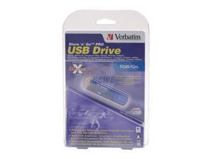 Verbatim Store 'n' Go Pro 1GB Flash Drive (USB2.0 Portable) Model 95020