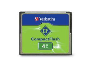 Verbatim 4GB Compact Flash (CF) Flash Card