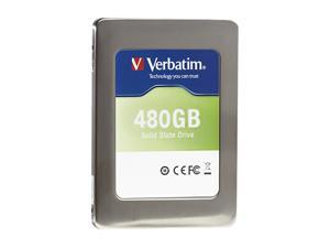"Verbatim 47381 2.5"" 480GB SATA III Internal Solid State Drive (SSD) (Drive Only)"
