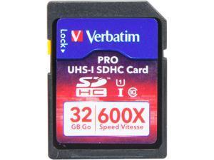 Verbatim PRO 32 GB Secure Digital High Capacity (SDHC) - 1 Card