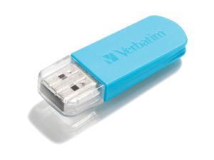 Verbatim 16GB Store 'n' Go&reg&#59; Mini USB Drive - Caribbean Blue