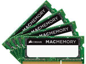 CORSAIR 32GB (4 x 8GB) DDR3L 1866 (PC3L 14900) Unbuffered Mac Memory Model CMSA32GX3M4C1866C11