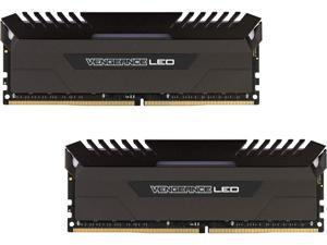CORSAIR Vengeance LED 16GB (2 x 8GB) 288-Pin DDR4 SDRAM DDR4 3200 (PC4 25600) Memory (Desktop Memory) Model CMU16GX4M2C3200C16