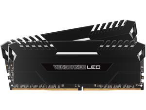 CORSAIR Vengeance LED 32GB (2 x 16GB) 288-Pin DDR4 SDRAM DDR4 3000 (PC4 24000) Memory (Desktop Memory) Model CMU32GX4M2C3000C15