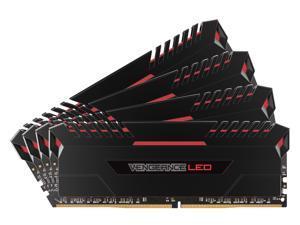 CORSAIR Vengeance LED 32GB (4 x 8GB) 288-Pin DDR4 SDRAM DDR4 3466 (PC4 27700) Memory (Desktop Memory) Model CMU32GX4M4C3466C16R