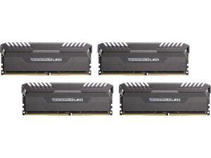 CORSAIR Vengeance LED 32GB (4 x 8GB) 288-Pin DDR4 SDRAM DDR4 2666 (PC4 21300) Memory (Desktop Memory) Model CMU32GX4M4A2666C16