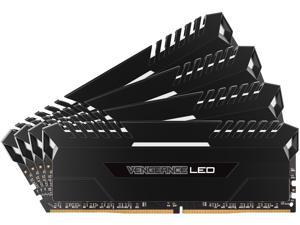 CORSAIR Vengeance LED 32GB (4 x 8GB) 288-Pin DDR4 SDRAM DDR4 3000 (PC4 24000) Memory Kit Model CMU32GX4M4C3000C15