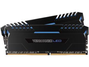 CORSAIR Vengeance LED 16GB (2 x 8GB) 288-Pin DDR4 SDRAM DDR4 3000 (PC4 24000) Memory (Desktop Memory) Model CMU16GX4M2C3000C15B