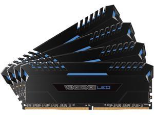 CORSAIR Vengeance LED 32GB (4 x 8GB) 288-Pin DDR4 SDRAM DDR4 3000 (PC4 24000) Memory (Desktop Memory) Model CMU32GX4M4C3000C15B