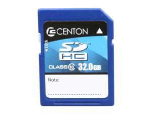 CENTON MediaPower 32GB SD/SDHC Flash Card Model 32GBSDHC10