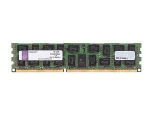 Kingston 8GB 240-Pin DDR3 SDRAM Server Memory QR x8 w/TS Intel Model KVR10R7Q8/8I