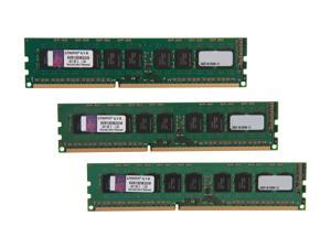 Kingston 24GB (3 x 8GB) 240-Pin DDR3 SDRAM ECC Unbuffered DDR3 1333 Server Memory Intel Model KVR13E9K3/24I