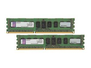 Kingston 8GB (2 x 4GB) 240-Pin DDR3 SDRAM Server Memory DR x8 Intel Model KVR13R9D8K2/8I