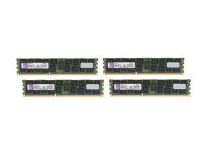 Kingston 64GB (4 x 16GB) 240-Pin DDR3 SDRAM DDR3 1333 ECC Registered Server Memory DR x4 Intel Model KVR13R9D4K4/64I