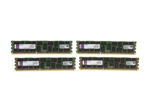 Kingston 32GB (4 x 8GB) 240-Pin DDR3 SDRAM Server Memory DR x4 1.35V Model KVR13LR9D4K4/32