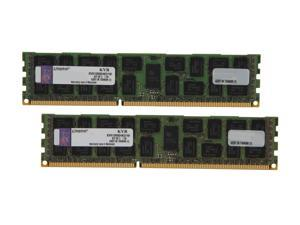 Kingston 16GB (2 x 8GB) 240-Pin DDR3 SDRAM ECC Registered DDR3 1333 Server Memory DR x4 Intel Model KVR13R9D4K2/16I