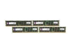 Kingston 32GB (4 x 8GB) 240-Pin DDR3 SDRAM ECC Registered DDR3 1333 Server Memory DR x4 Model KVR13R9D4K4/32