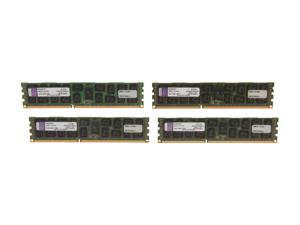 Kingston 32GB (4 x 8GB) 240-Pin DDR3 SDRAM Server Memory DR x4 Intel Model KVR16R11D4K4/32I