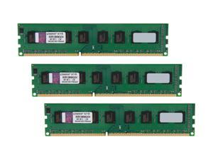 Kingston 24GB (3 x 8GB) 240-Pin DDR3 SDRAM DDR3 1333 Desktop Memory Model KVR13N9K3/24