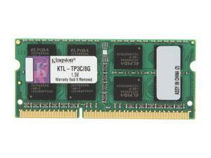 Kingston 8GB 204-Pin DDR3 SO-DIMM DDR3 1600 (PC3 12800) System Specific Memory Model KTL-TP3C/8G