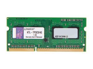 Kingston 4GB 204-Pin DDR3 SO-DIMM DDR3 1600 System Specific Memory Model KTL-TP3CS/4G