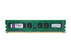 Kingston 4GB 240-Pin DDR3 SDRAM DDR3 1333 Desktop Memory SR x8 STD Height 30mm Model KVR13N9S8H/4