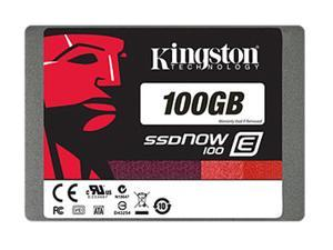 "Kingston SSDNow E100 100GB 2.5"" SATA III Enterprise Solid State Drive SE100S37/100G"