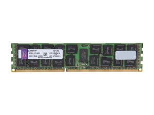 Kingston 16GB 240-Pin DDR3 SDRAM ECC Registered DDR3 1333 Server Memory DR x4 w/TS Model KVR13R9D4/16