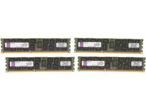 Kingston ValueRAM 64GB (4 x 16GB) 240-Pin DDR3 SDRAM ECC Registered DDR3 1600 Server Memory (Intel Validated) Model KVR16R11D4K4/64I