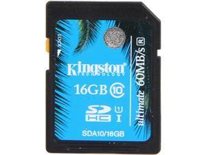 Kingston ULTIMA 16GB Secure Digital High-Capacity (SDHC) Ultimate Flash Card Model SDA10/16GB
