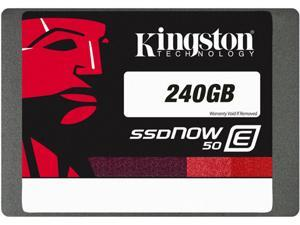"Kingston SE50S37/240G 2.5"" 240GB SATA Internal Solid State Drive (SSD)"