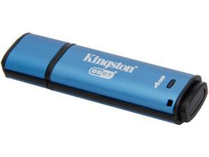 Kingston 4GB Data Traveler AES Encrypted Vault Privacy 256Bit USB 3.0 Flash Drive with ESET AV (DTVP30AV/4GB)