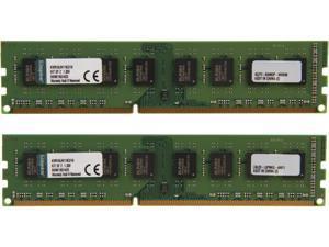 Kingston ValueRAM 16GB (2 x 8GB) 240-Pin DDR3 SDRAM DDR3L 1600 (PC3L 12800) Desktop Memory Model KVR16LN11K2/16