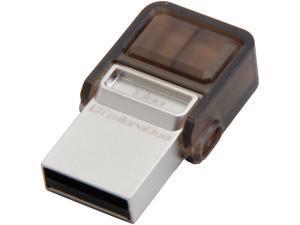 Kingston DataTraveler microDuo 8GB Micro USB OTG Flash Drive Model DTDUO/8GB