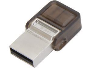 Kingston DataTraveler microDuo 16GB Micro USB OTG Flash Drive Model DTDUO/16GB