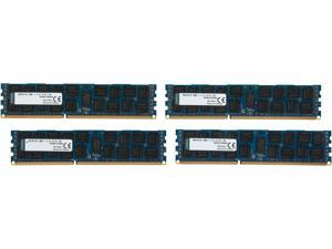 Kingston ValueRAM 64GB (4 x 16GB) 240-Pin DDR3 SDRAM ECC Registered DDR3 1600 (PC3 12800) Server Memory Model KVR16LR11D4K4/64