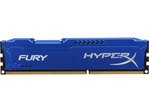 HyperX FURY 4GB 240-Pin DDR3 SDRAM DDR3 1333 (PC3 10600) Desktop Memory Model HX313C9F/4