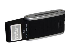 Vivitar VIV-RW-SD USB Secure Digital (SD) Card Reader/Writer