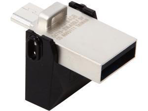 Kingston 64GB Data Traveler Micro Duo OTG USB 3.0 Flash Drive (DTDUO3/64GB)