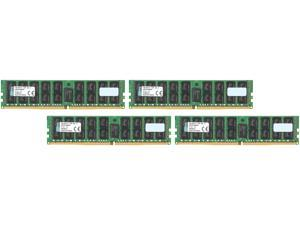 Kingston 64GB (4 x 16GB) 288-Pin DDR4 SDRAM ECC Registered DDR4 2133 (PC4 17000) Server Memory Model KVR21R15D4K4/64