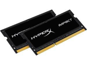 HyperX Impact 8GB (2 x 4GB) 204-Pin DDR3 SO-DIMM DDR3L 2133 (PC3L 17000) Memory Kit Model HX321LS11IB2K2/8