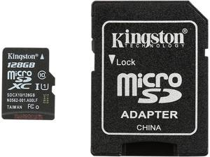 Kingston 128GB microSDXC Flash Card Model SDCX10/128GB