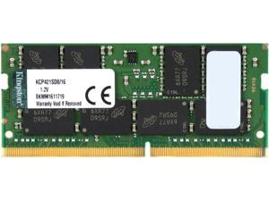 Kingston 16GB 260-Pin DDR4 SO-DIMM DDR4 2133 (PC4 17000) System Specific Memory Model KCP421SD8/16