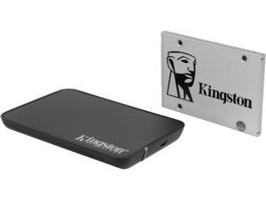 "Kingston SSDNow UV400 2.5"" 120GB SATA III TLC SSD Combo Bundle SUV400S3B7A/120G"