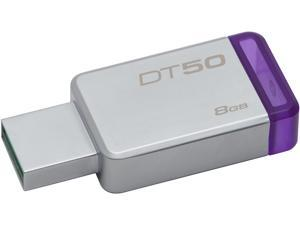 Kingston 8GB DataTraveler 50 USB 3.0 Flash Drive, Speed Up to 110MB/s (DT50/8GB)