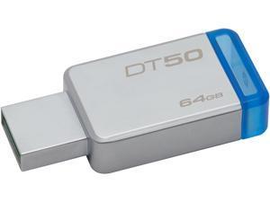 Kingston 64GB DataTraveler 50 USB 3.0 Flash Drive, Speed Up to 110MB/s (DT50/64GB)