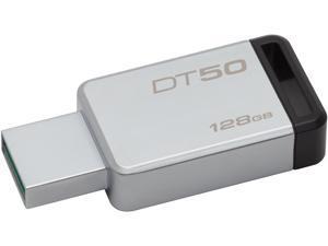 Kingston 128GB DataTraveler 50 USB 3.0 Flash Drive, Speed Up to 110MB/s (DT50/128GB)