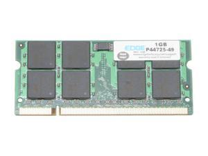 EDGE Tech 1GB 200-Pin DDR2 SO-DIMM DDR2 533 (PC2 4200) Laptop Memory Model PE199906