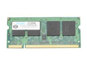 EDGE Tech 512MB 200-Pin DDR2 SO-DIMM DDR2 533 (PC2 4200) Laptop Memory Model PE199890