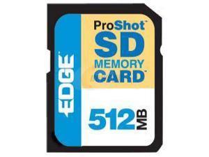 EDGE Tech EDGE ProShot 60X 512MB Secure Digital (SD) Flash Media Model PE200527